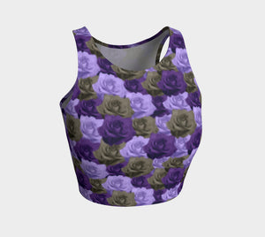 Roses Athletic Crop Top