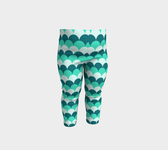 Mermaid Scales Baby Leggings