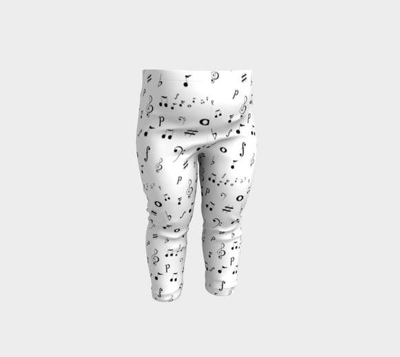 Listen to the Music Baby Leggings