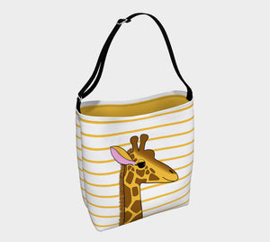 Georgia the Giraffe Tote Bag