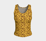 Giraffe Fitted Tank Top (Regular)