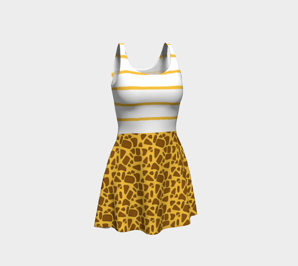 Giraffe Flare Dress