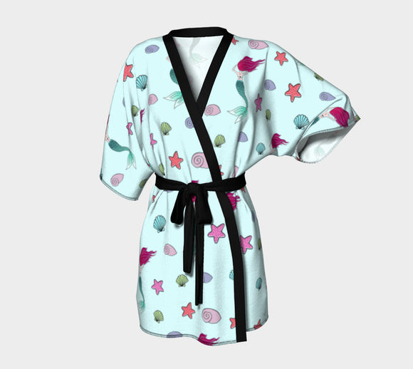 Under the Sea Kimono Robe