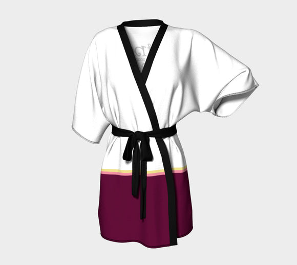 Wine is Always a Good Idea Kimono Robe