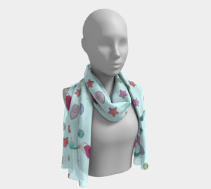 Under the Sea Long Scarf