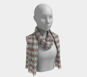Classic Plaid Long Scarf