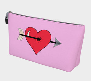 Struck by Cupid's Arrow Makeup Bag