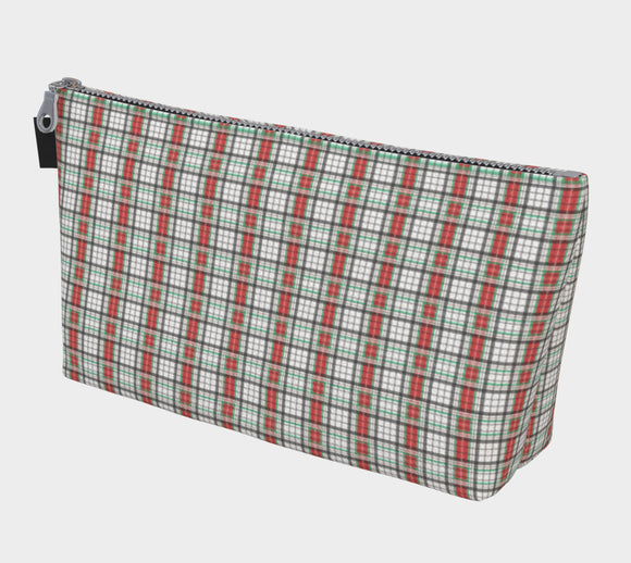 Classic Plaid Makeup Bag