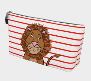 Leo the Lion Makeup Bag