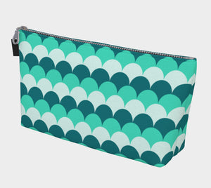 Mermaid Scales Makeup Bag
