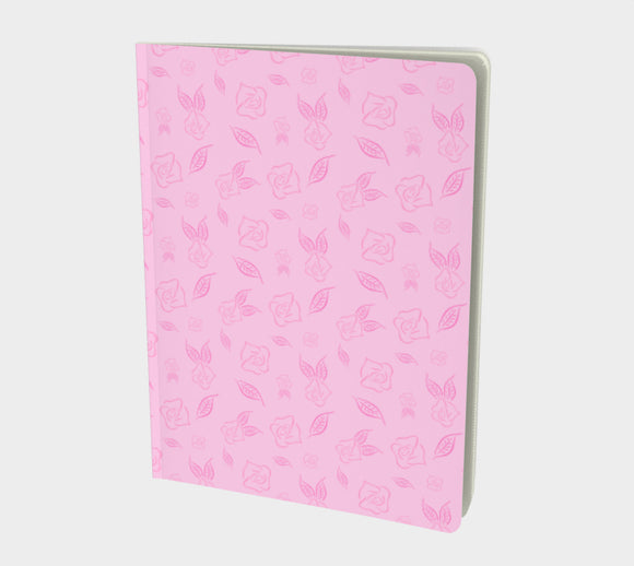 Cartoon Rose Notebook