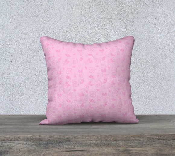 Cartoon Rose Pillow Case - 18