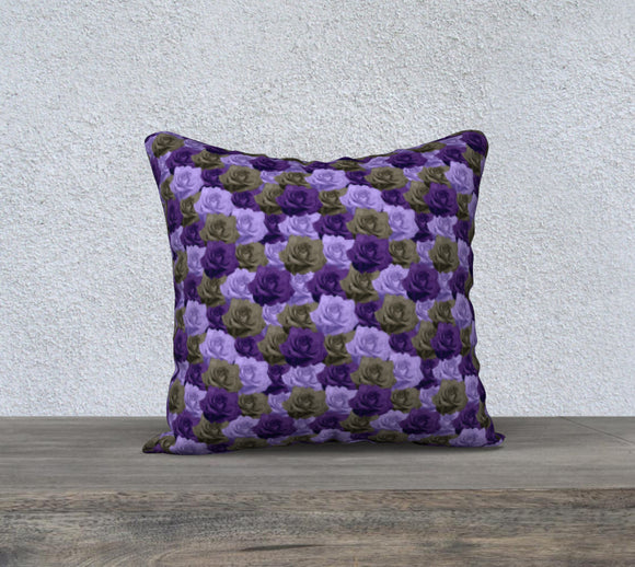 Roses Pillow Case - 18