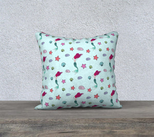 "Under the Sea Pillow Case - 18""x18"""