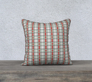 "Classic Plaid Pillow Case - 18""x18"""