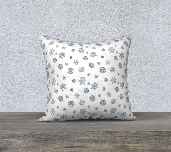 Snowflakes Pillow Case - 18