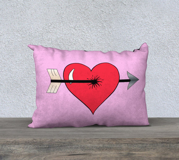 Struck by Cupid's Arrow Pillow Case - 20