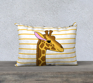 "Georgia the Giraffe Pillow Case - 20""x14"""