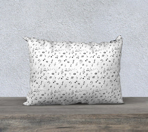 "Listen to the Music Pillow Case - 20""x14"""