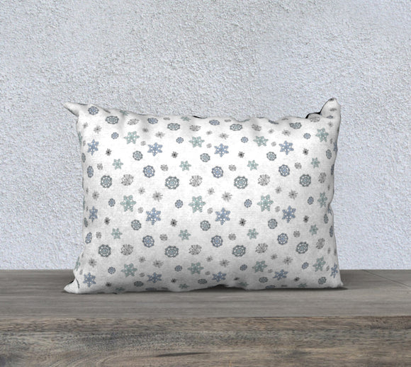 Snowflakes Pillow Case - 20