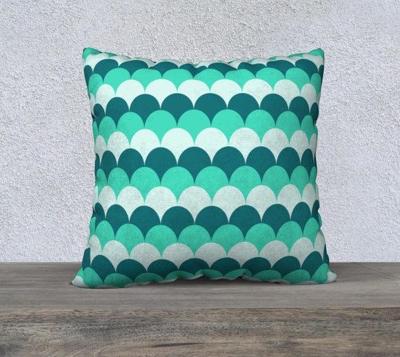 Mermaid Scales Pillow Case - 22