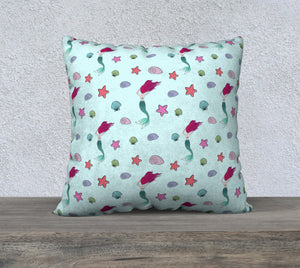 "Under the Sea Pillow Case - 22""x22"""