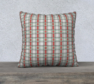 "Classic Plaid Pillow Case - 22""x22"""