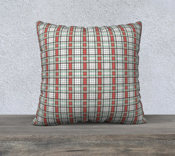 Classic Plaid Pillow Case - 22