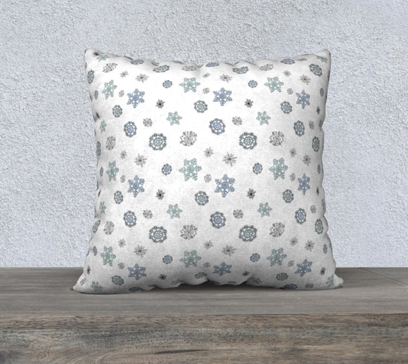 Snowflakes Pillow Case - 22