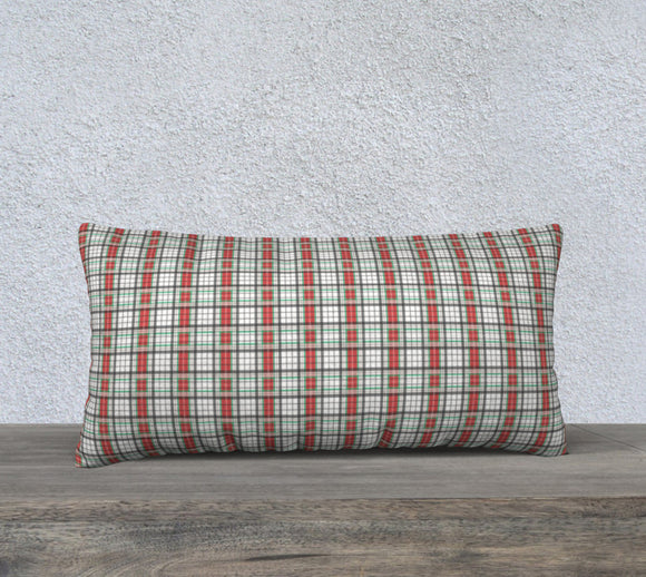 Classic Plaid Pillow Case - 24