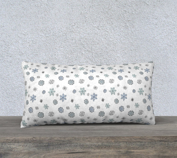 Snowflakes Pillow Case - 24