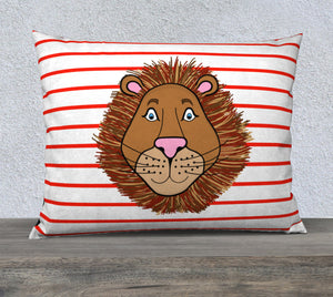 "Leo the Lion Pillow Case - 26""x20"""