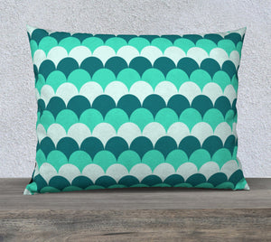 "Mermaid Scales Pillow Case - 26""x20"""