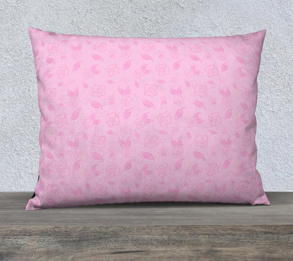 Cartoon Rose Pillow Case - 26