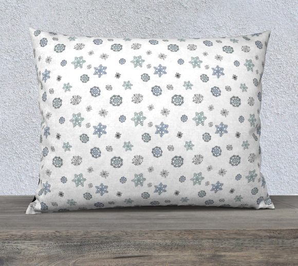 Snowflakes Pillow Case - 26