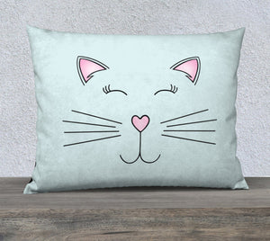 "Pretty Kitty Pillow Case - 26""x20"""