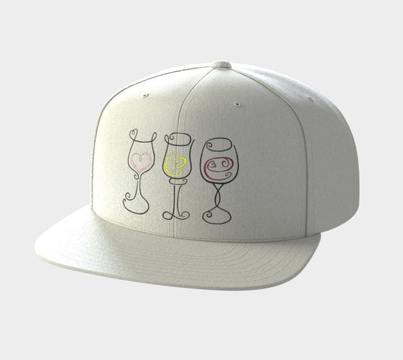 Wine is Always a Good Idea Snapback Hat