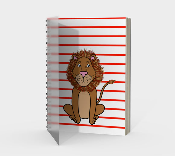 Leo the Lion Spiral Notebook