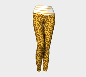 Giraffe Yoga Leggings