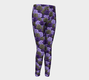 Roses Youth Leggings