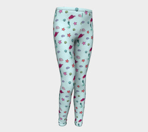 Under the Sea Youth Leggings