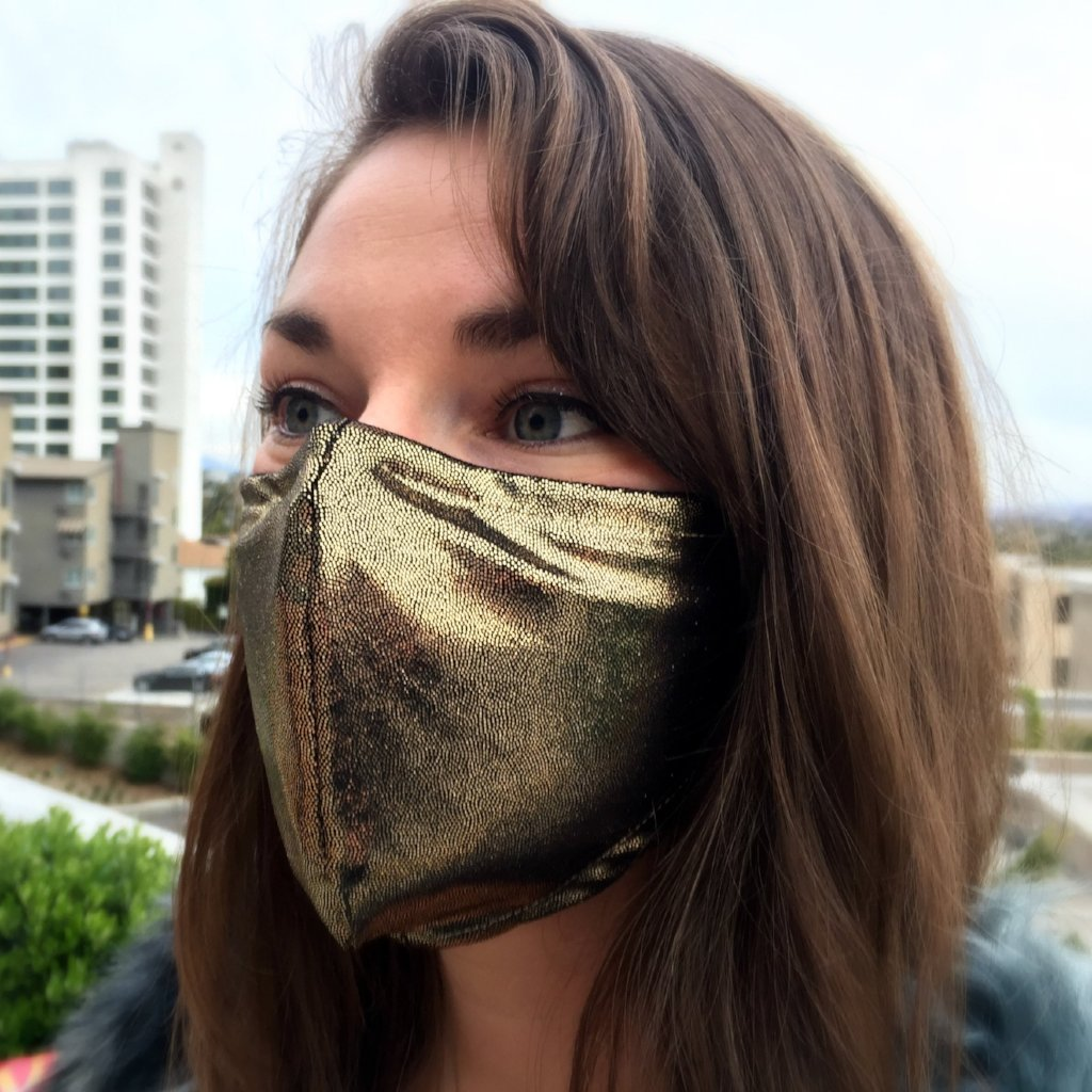 Prana Dust Mask - Gold Dust