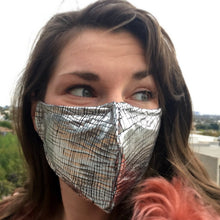 Prana Dust Mask - Silver Crackle
