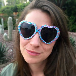 Unicorn Glitter Sunglasses