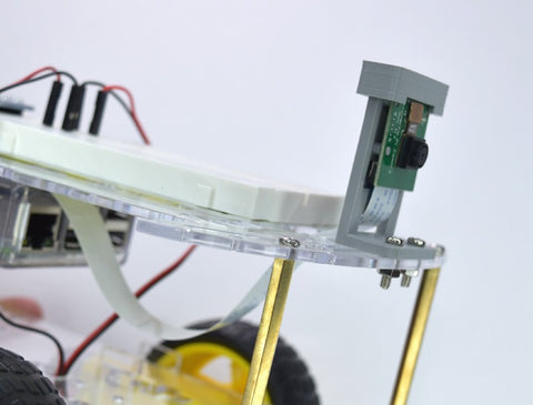 Mounting Raspberry Pi camera to robot chassis
