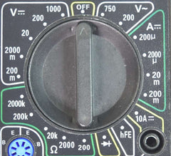 Multimeter Rotating Selector Switch