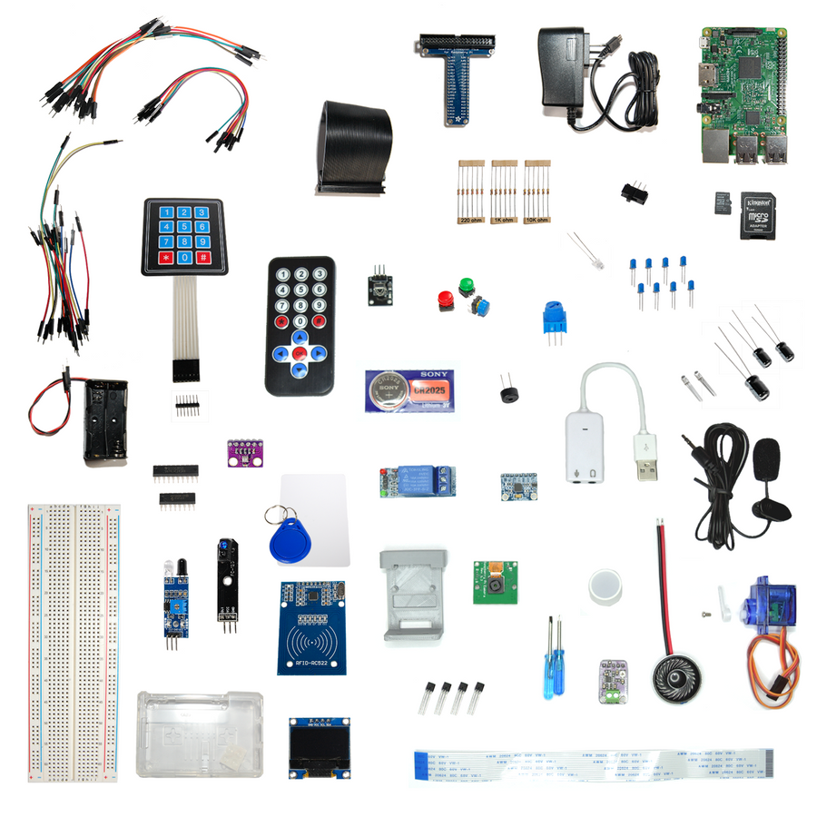Intro to Robotics Levels A-C Extra Component Kits Only (no curriculum)