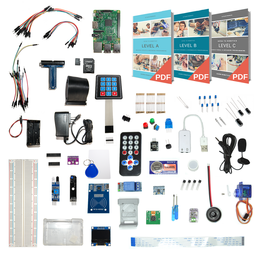 Intro to Robotics Levels A - C Classroom Base Bundle