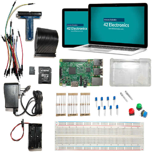 Basic Electronics and Coding Homeschool Course Including Raspberry Pi and Python