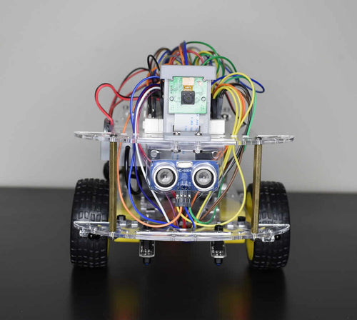 Front view of mobile robot